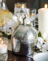 Nickel Plated Dome Jar
