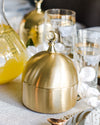 Brass Dome Jar