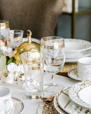 Timeless style meets contemporary design in the sophisticated Lilac teacups. With a sleek shape in fine Glass, these chic teacups add effortless elegance to any gathering.