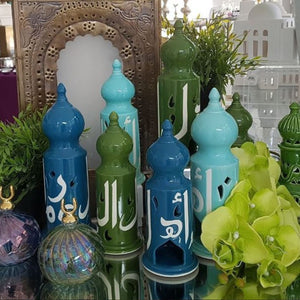 Ceramic Minaret Tealight Holder