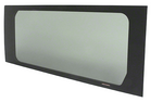 "CRL 2014+ OEM Design 'All-Glass' Look Ram ProMaster 136"" Wheelbase Van Fixed Window Passenger Side Quarter Panel"