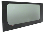 "CRL 2014+ OEM Design 'All-Glass' Look Ram ProMaster 136"" Wheelbase Van Fixed Window Drivers Side Quarter Panel"