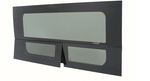 "CRL 2014+ OEM Design 'All-Glass' Look Ram ProMaster Passenger Side Sliding Door T-Vent Window 136"" & 159"" Wheelbase Only"