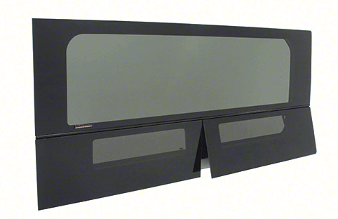 "CRL 2014+ OEM Design 'All-Glass' Look Ram ProMaster 136"" Wheelbase T-Vent Window Drivers Side Quarter Panel"