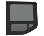 "2015+ OEM Design 'All-Glass' Look Ford Transit Driver's Side Rear Quarter Window for 148"" Standard Body ONLY Medium and High Top Vans"