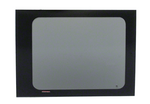 "CRL 2015+ OEM Design 'All-Glass' Look Ford Transit Driver Side Middle Window for 148"" Standard Body and 148"" Extended Length Body Medium and High Top Vans"