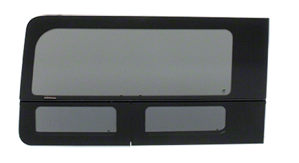 "CRL 2015+ OEM Design 'All-Glass' Look Ford Transit Driver's Side Forward Window for 130"" or 148"" Standard Body and 148"" Extended Length Body Medium and High Top Vans"