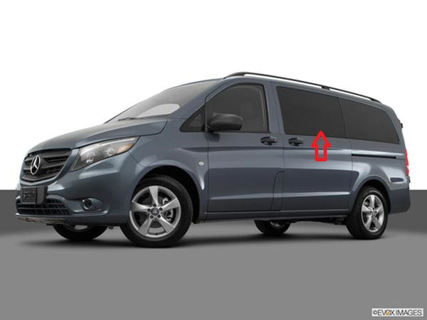 Mercedes Metris Driver-side Middle (sliding door) Fixed Window