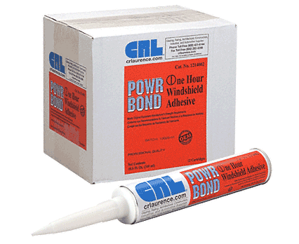 CRL One Hour Auto Glass Urethane Adhesive - 10.5 Fl. Oz. Cartridge