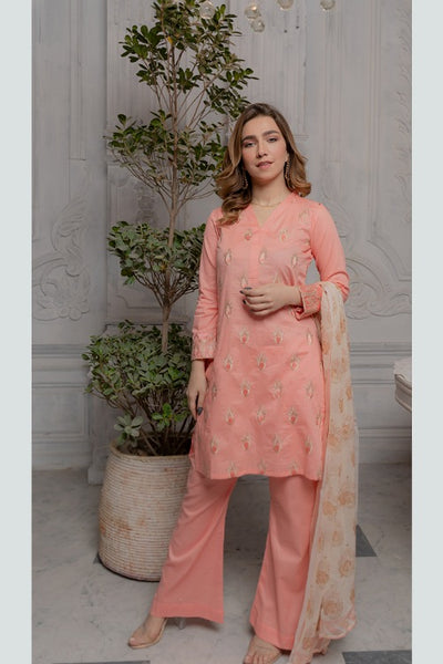 Panache Peach Impact Eid Collection