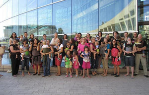 Breast Feeding Babywearing Flash Mob Alert!