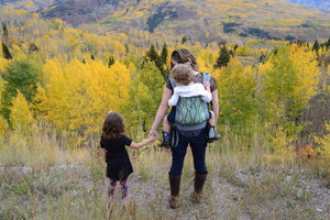 How Babywearing Helps Me Bond with My Big Kids Too