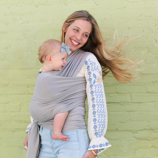 Boba Baby Wrap Carrier Grey Shop Boba Bamboo Baby Wrap Carriers