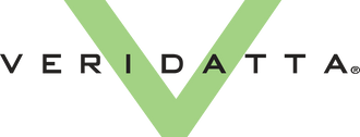 VERIDATTA LOGO GREEN AND BLACK SKINCARE COMPANY