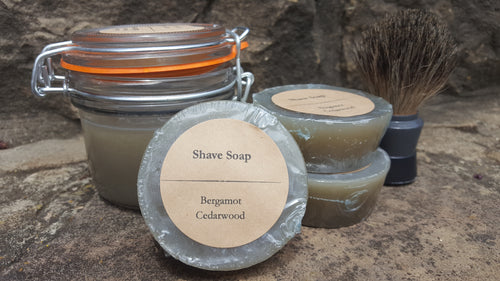 Shaving Soap - Bergamot Cedarwood