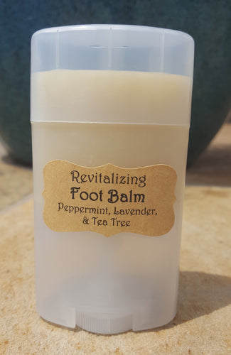 Revitalizing Foot Balm