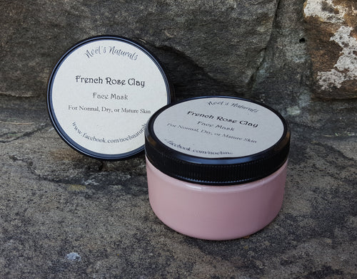 Face Mask - French Rose Clay