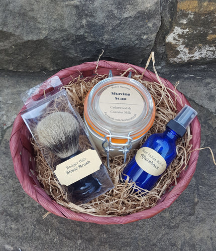 Gift Basket - Shave Kit