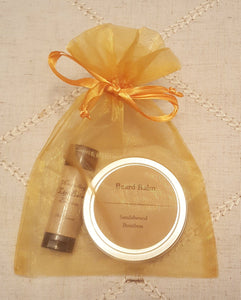 Gift Set - Beard Balm and Bourbon Lip Balm
