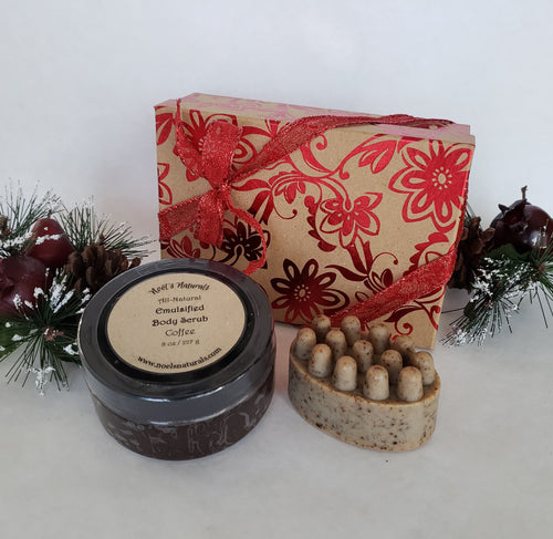 Gift Box - Coffee Scrub Set