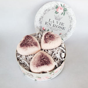 Rose Milk Bath Bomb Gift Set