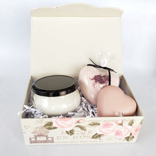 Gift Set - Rose Milk &  Body Mousse
