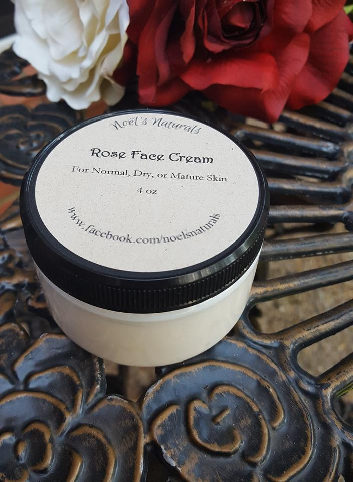Face Cream - Rose