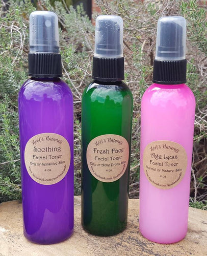 Soothing Facial Toner - For dry, sensitive, or normal skin