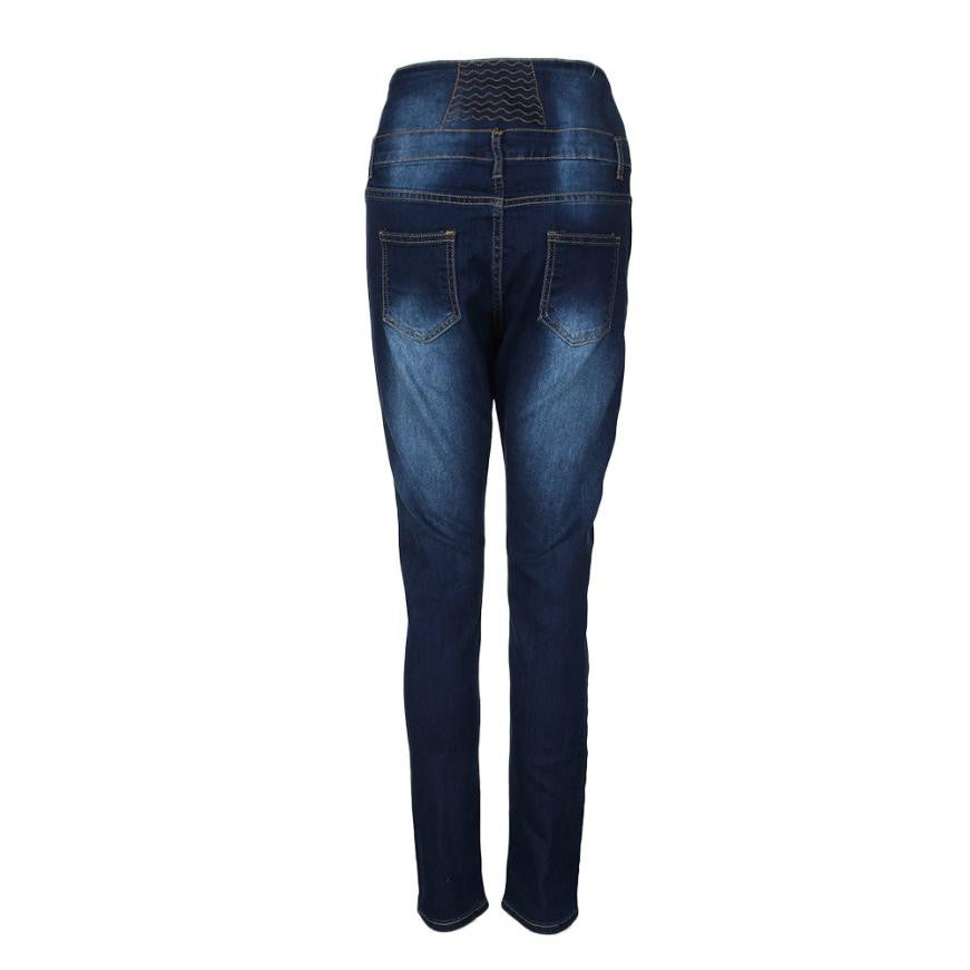 Women's High Waisted Pencil Skinny Jeans