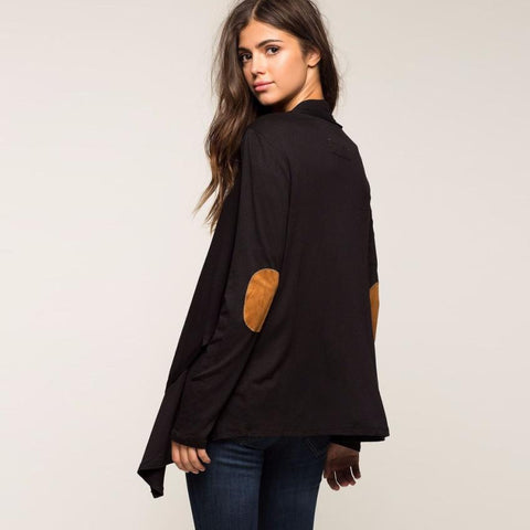 Women's Irregular Long Sleeve Cardigan