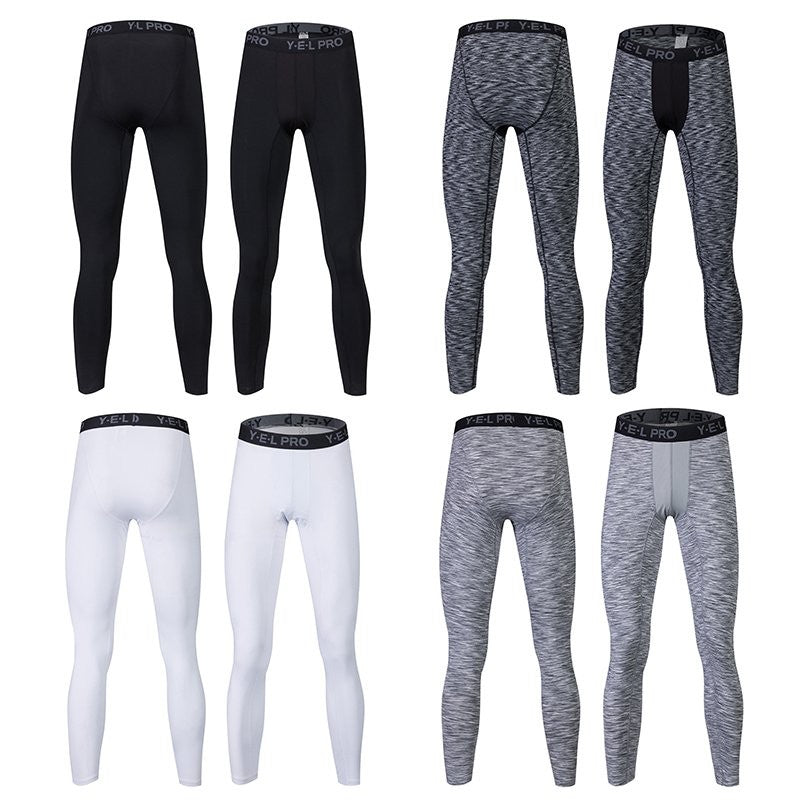 Men's Quick Dry Compression Pants - 4 Colors & Types