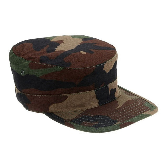 Men's Camouflage Army Hat - 8 Styles & Colors