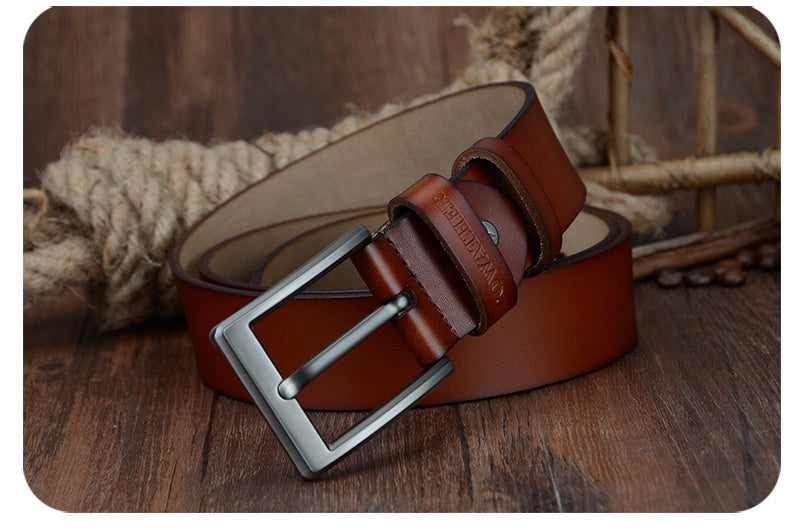 Vintage Pin Buckle Belt - 3 Colors