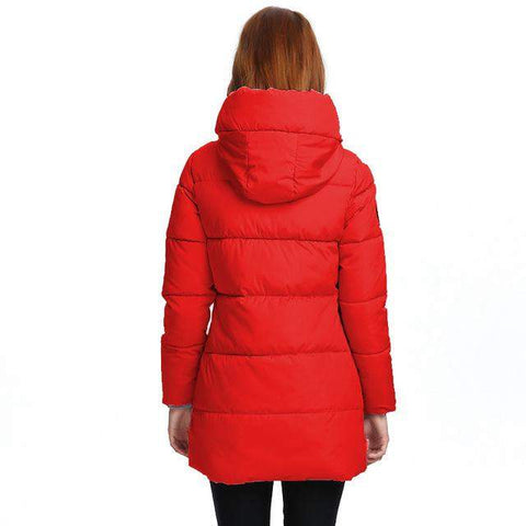 Women's Hooded Long Parka - 10 Styles & Colors