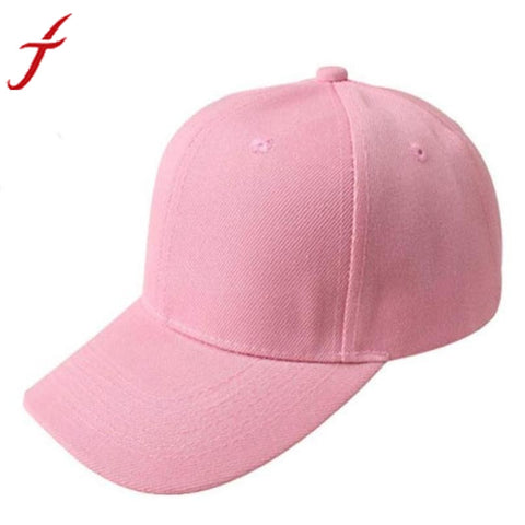Solid Color Baseball Cap - 7 Colors