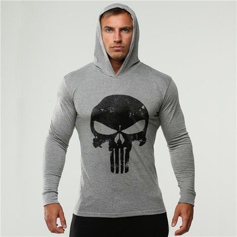 Men's Punisher Compression Hoodie - 7 Styles & Colors