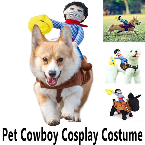 Cowboy Rider Costume for Dogs