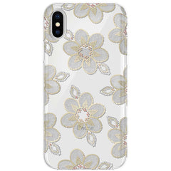 Estuche para iPhone X Incipio Design Series Classic, beaded floral