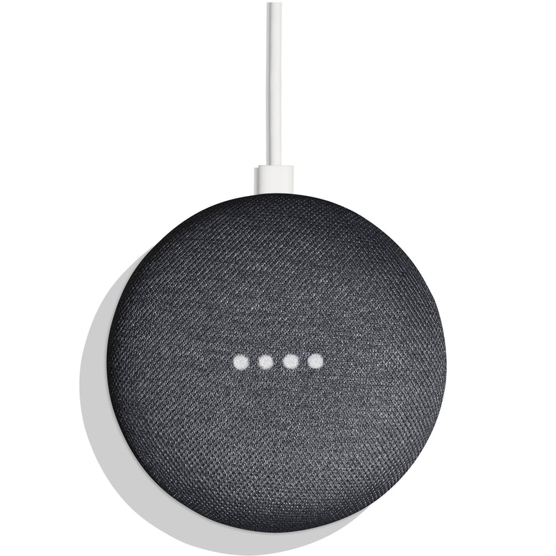 Bocina inalámbrica Google Home Mini, asistente virtual, color charcoal