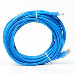 Cable de Red Cat5 APT, 25 pies de longitud, azul