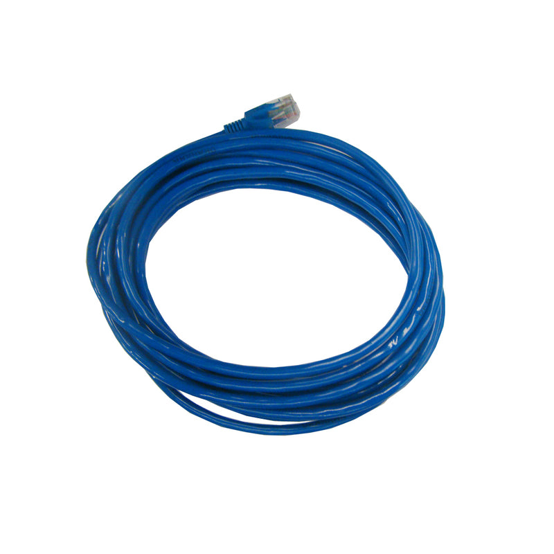 "Cable de red APT Patch CAT5, 15"", azul/rojo"