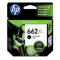 Tinta HP 662XL, cartucho, negro, XL