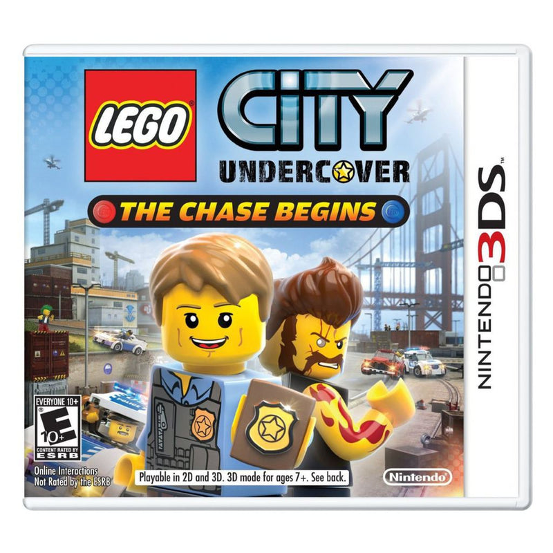 Lego City Undercover: The Chase Begins - Juego para Nintendo 3DS