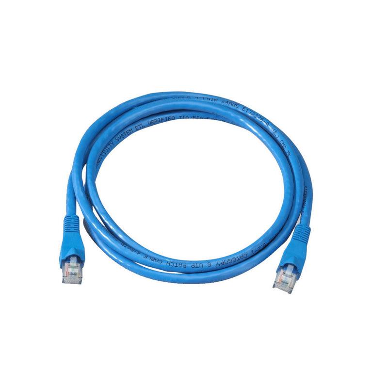 Cable de Red CAT5 APT 10-7010, 10 pies de longitud, azul