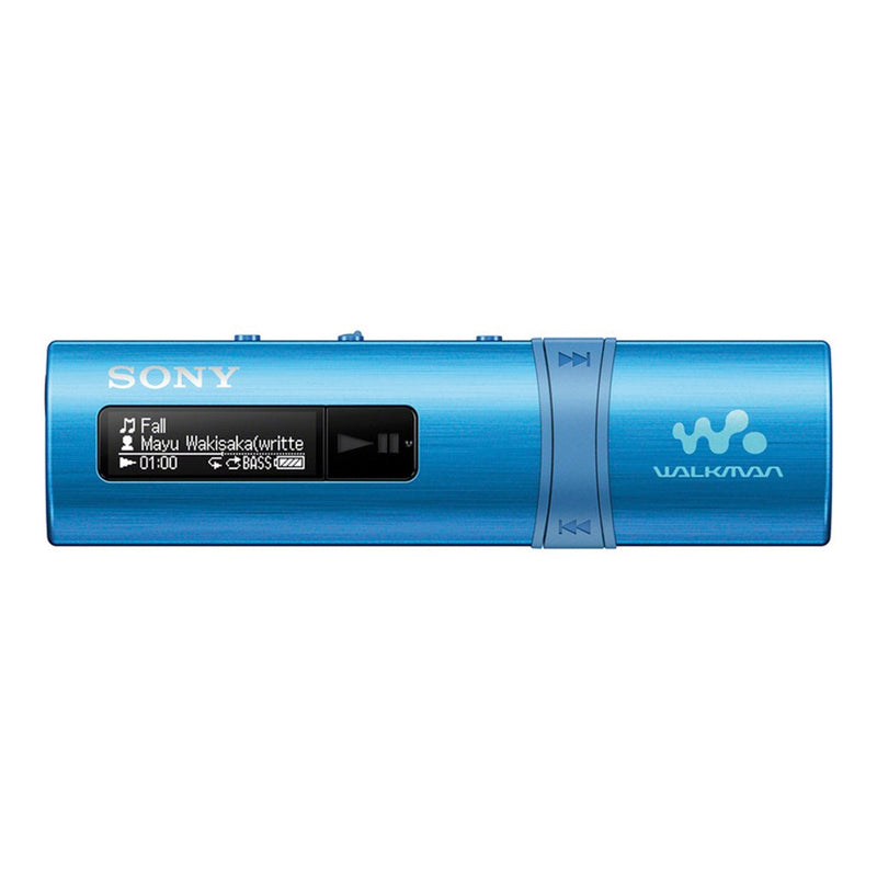 Reproductor de audio Sony NWZ-B183F/LCMX3, 4GB, azul