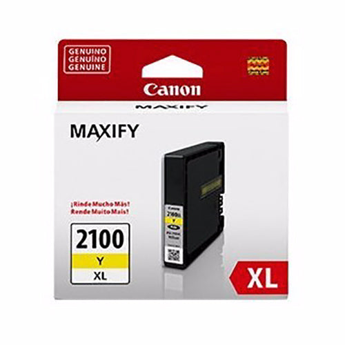 Tinta Canon PGI-2100XL, amarillo - Multimax
