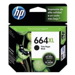 Tinta HP 664XL, cartucho, negro