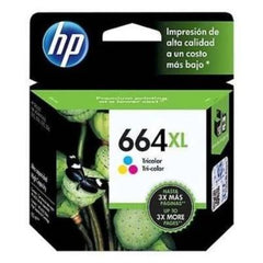 Tinta HP 664XL, cartucho, tricolor