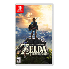 The Legend of Zelda Breath of the Wild - Juego para Nintendo Switch