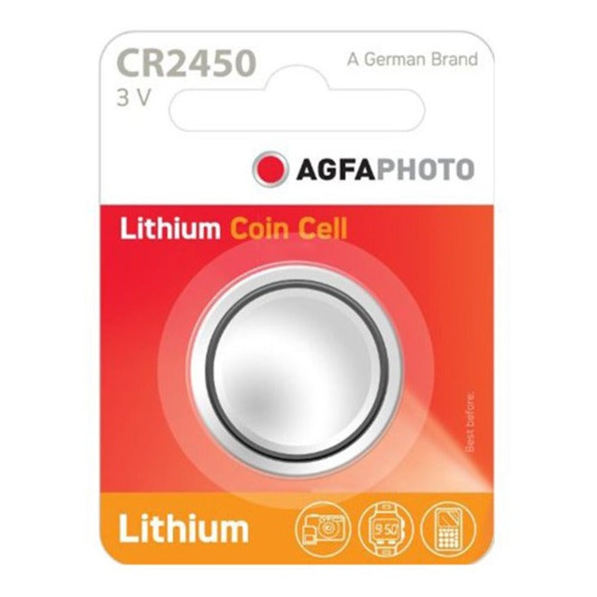 Batería de litio AGFA CR 2450, 3V - Multimax